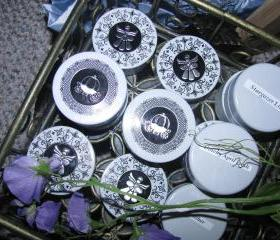 1 case (12ea) Wedding/Special Occasion/Party Favors Tiny Angel or Carriage Tin Candles WHOLESALE