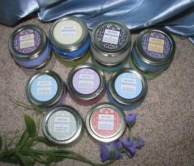 Save by the Case (12ea) Candles in 3.3oz Tureen Jars or Party Favors
