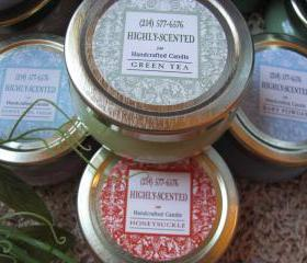 Save by the Case (12ea) Candles in 6oz Tureen Jars or Party Favors WHOLESALE